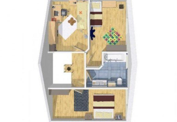 Grundriss Doppelhaushälfte