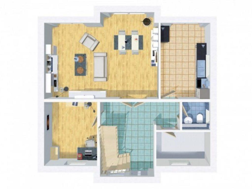 grundriss einfamilienhaus 150 qm 5 zimmer wilms haus. Black Bedroom Furniture Sets. Home Design Ideas