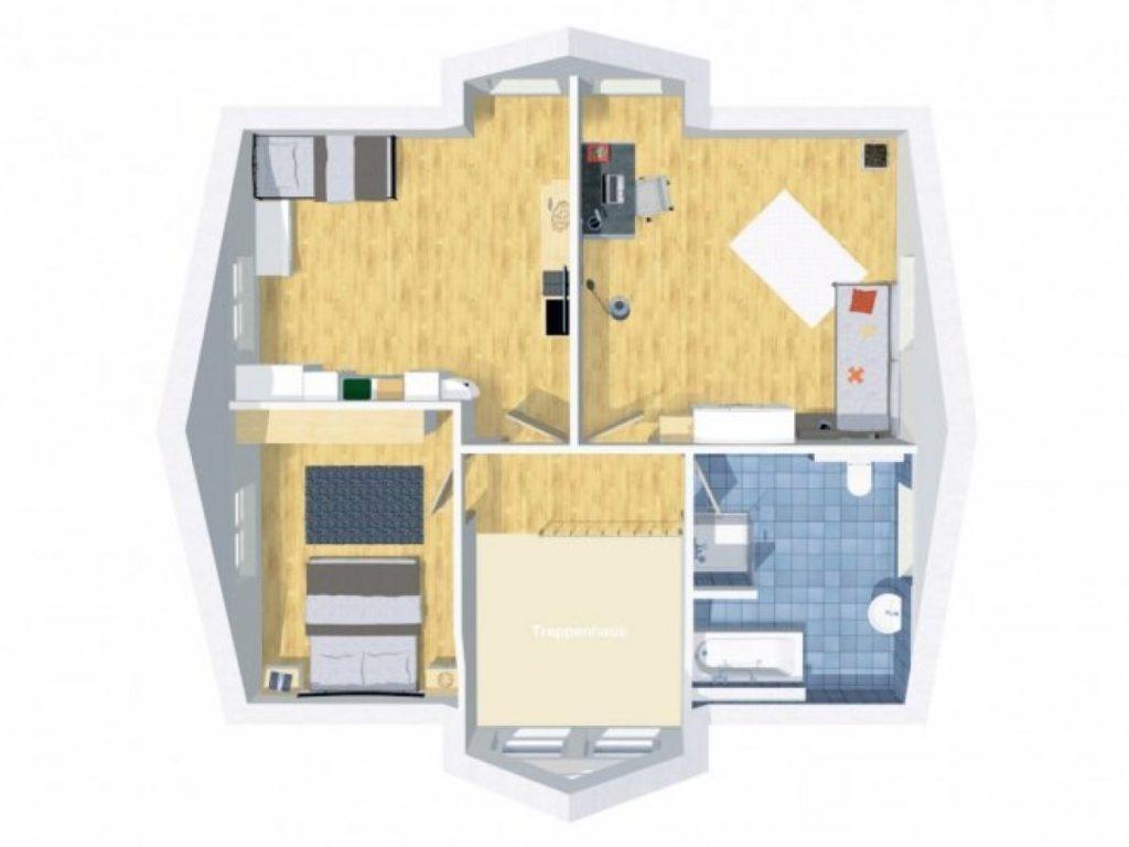 Grundriss Einfamilienhaus 150 qm 5 Zimmer | Wilms Haus