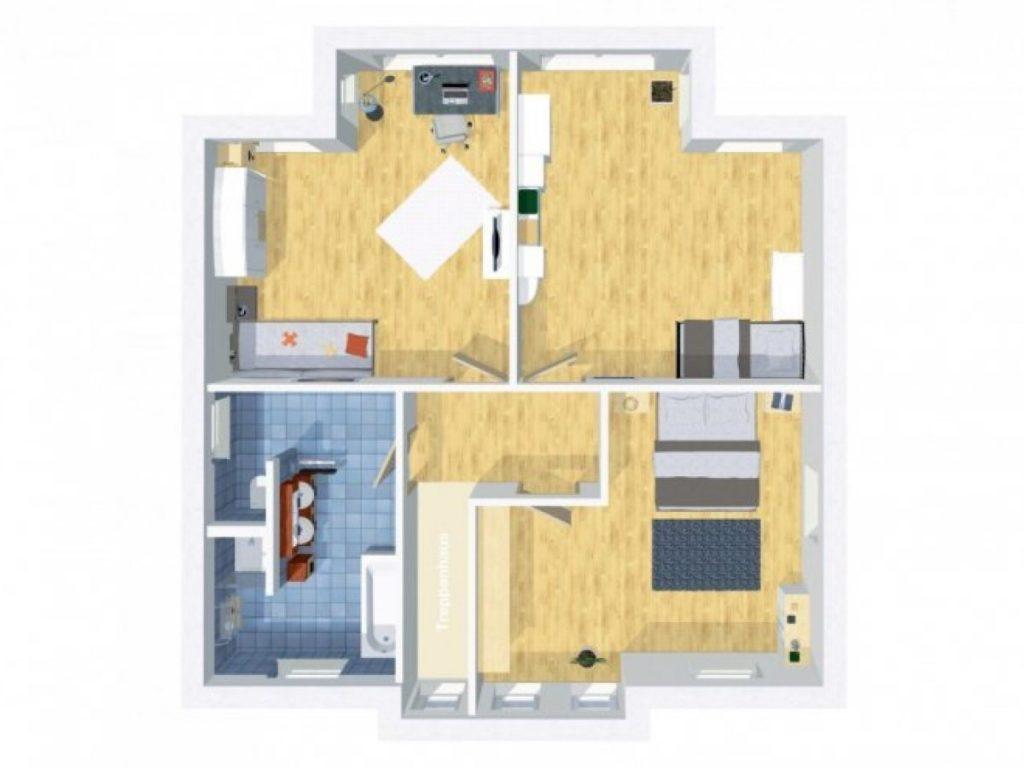 Grundriss Stadtvilla 170 qm 5 Zimmer | Wilms Haus