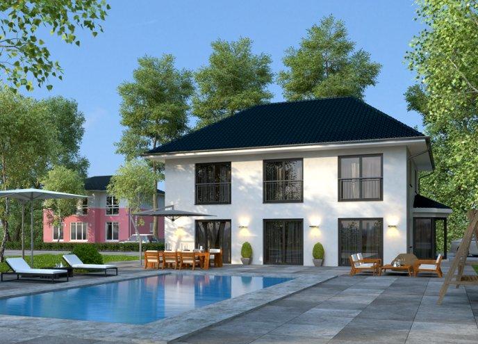 Grundriss Zweifamilienhaus