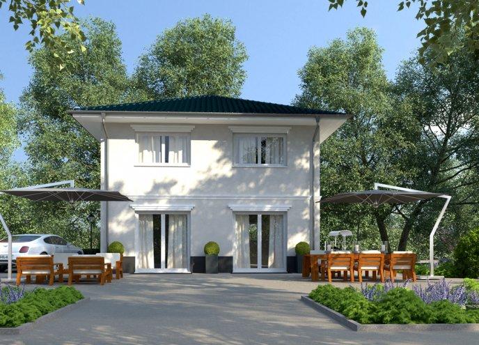 Stadtvilla Kathrin Massivhaus