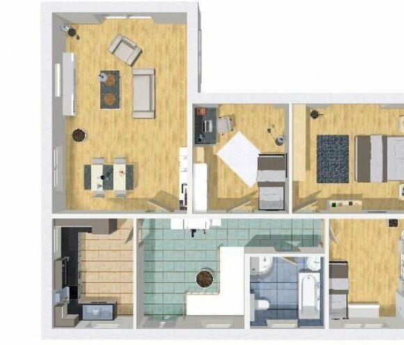 Grundriss bungalow